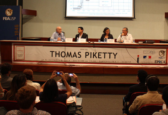 Thomas Piketty na FEAUSP